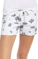 Monrow Women's Tropical Vintage Lounge Shorts