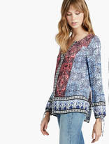 Lucky Brand Long Sleeve With Border