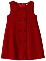 Dolce & Gabbana City Button Detail Dress (Toddler/Little Kids)