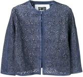 S.W.O.R.D 6.6.44 cropped cardigan