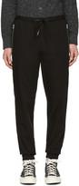 3.1 Phillip Lim Black Twill Track Trousers