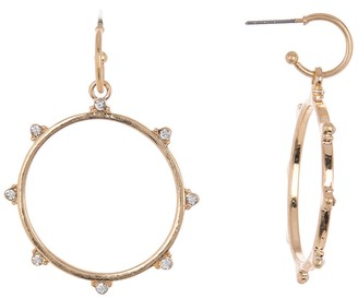 Melrose and Market Stone Studded Huggie Drop Earrings