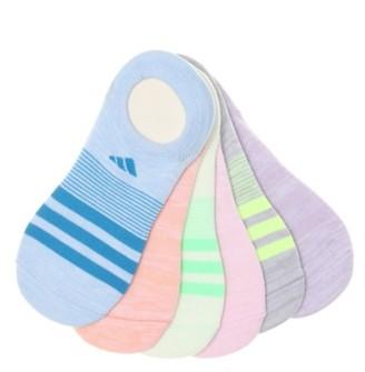 adidas Superlite Women's No Show Socks - 6 Pack