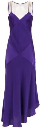 Mara Mac Long Silk Dress