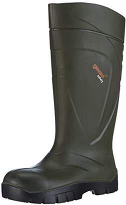 Dunlop Unisex Adults' PURFECT GS-LAARS S5 Unlined Rubber Boots Long Shaft Boots & Bootees Green Size: