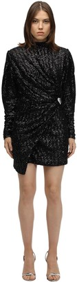 Silvia Astore Sequined Mini Dress
