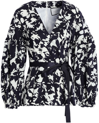 Alexis Printed Twill Blouse