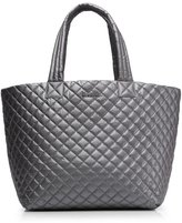 M Z Wallace Large Metro Tote Quilted Black Lacquer