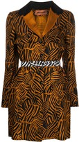 Missoni embroidered single-breasted coat