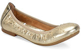 Børn Julianne Metallic Leather Studded Slip-On Ballet Flats