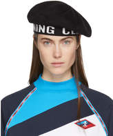 Opening Ceremony Black Logo Beret