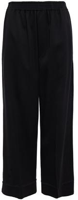 MM6 MAISON MARGIELA Cropped Twill Wide-leg Pants