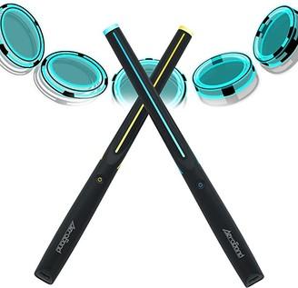 AEROBAND Drum Sticks Air Electronic Drum Set with Light, Bluetooth Wireless Connection Pocketdrum, 4 Modes Portable Drumsticks