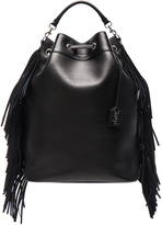 Saint Laurent Emmanuelle Oversized Backpack