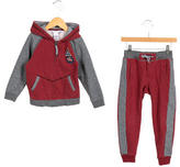 Little Marc Jacobs Boys' Hooded Jogger Set