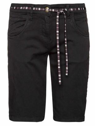 Protest Ladies Shorts Scarlet True Black M/38