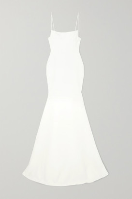 Alex Perry Eliza Satin-crepe Gown