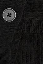 Alexander Wang Fine-knit wool tank