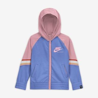 Nike Big Kids' (Girls') Full-Zip Hoodie Sportswear Heritage