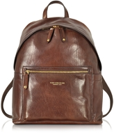 The Bridge Sfoderata Lux Uomo Marrone Leather Backpack
