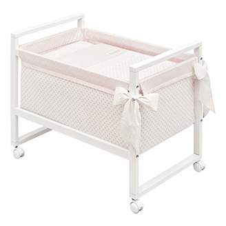 Camilla And Marc Cambrass Small Bed/Crib (55 x 88 x 72 cm, Next Star Pink)
