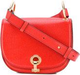 Marni classic cross body satchel - women - Goat Skin/Cotton/Polyurethane/Brass - One Size