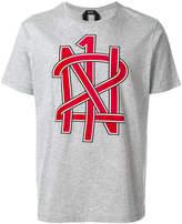 No.21 logo graphic T-shirt