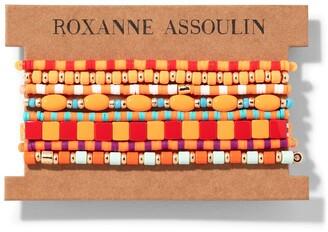 Roxanne Assoulin Color Therapy Orange bracelet set