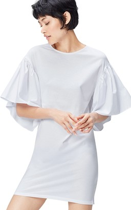 Private Label Amazon Brand - find. Women's Party Dress with Volume Sleeve