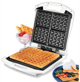 Proctor-Silex Four Square Belgian Waffle Maker