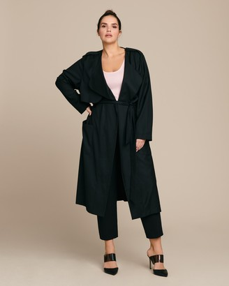 Baacal Soft Trench Jacket