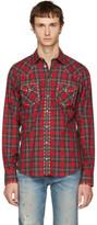 Dolce & Gabbana Red Western Shirt