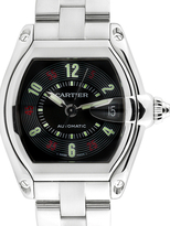Cartier Vintage Roadster Stainless Steel Watch, 44mm