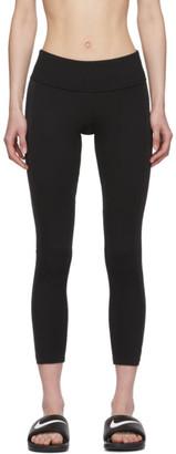 Nike Black Air Ribbed Leggings
