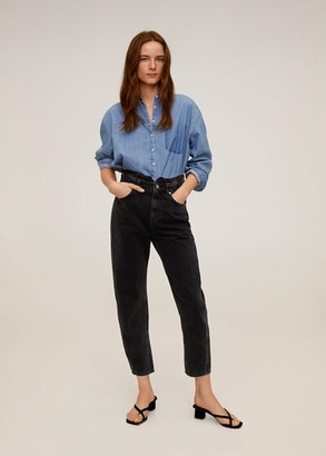 MANGO Waist straight Slouchy jeans