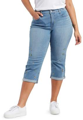 Levi's Plus Folded Capri Jeans
