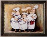 KitchenArt ''Haute Cuisine I'' Framed Canvas Wall Art by Tracy Flickinger