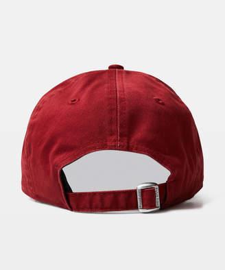 New Era 9Twenty NY Yankees Curvepeak Cap Washed Red