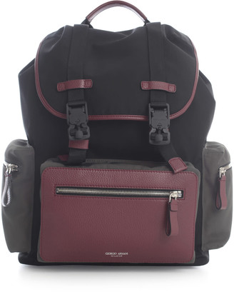Giorgio Armani 3 Colours Backpack