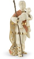 Lenox First Blessing Porcelain Nativity Figurine, Shepherd with Lamb