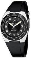 Calypso Men's Quartz Watch with Black Dial Analogue Display and Black Plastic Strap K6044/B