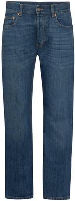 Gucci x Disney mid-rise straight-leg jeans