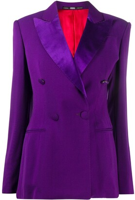 Gianfranco Ferré Pre-Owned Peaked Lapel Double-Breasted Blazer