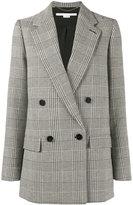 Stella McCartney double breasted blazer - women - Cotton/Polyamide/Spandex/Elastane/Wool - 40