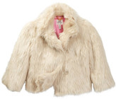 Milly Minis Abby Faux Fur Coat (Toddler & Little Girls)