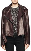Proenza Schouler Shiny Leather Moto Jacket