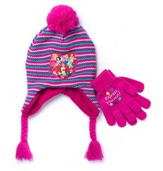 Disney Disney's Princess Girls 4-7 Hat & Gloves Set