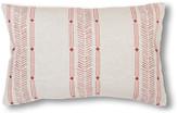 Kim Salmela Clayton 14x20 Lumbar Pillow - Rust/Natural