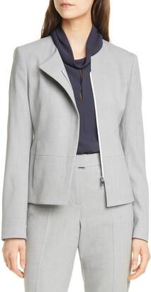 HUGO BOSS Jaina Stretch Virgin Wool Suit Jacket