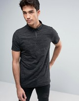Brave Soul Zip Down Polo